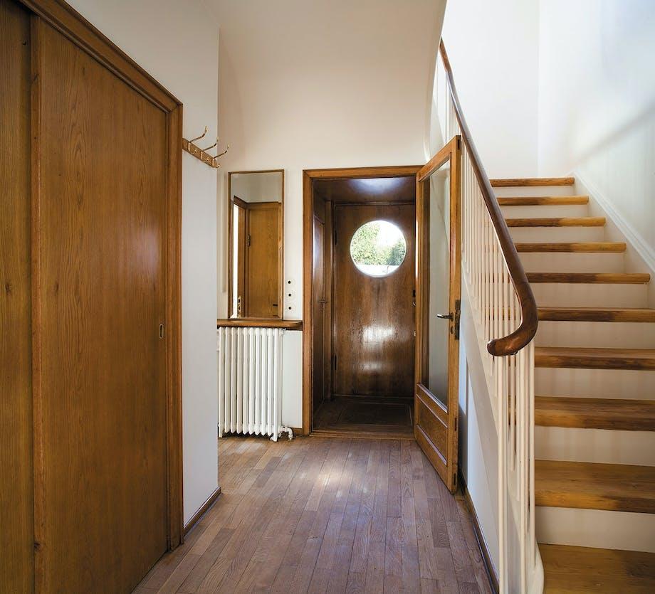 Hall'en i Arne Jacobsens funkisvilla