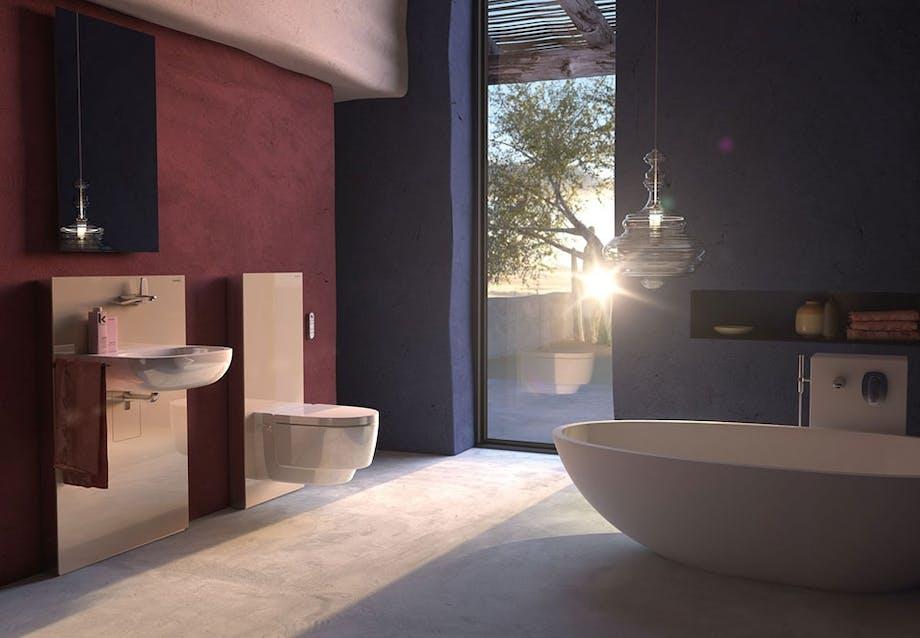 Moduler til toilet og håndvask fra Geberit