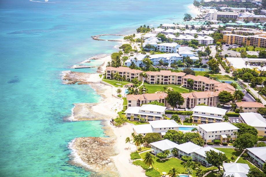 Kystlinjen på Caymanøerne