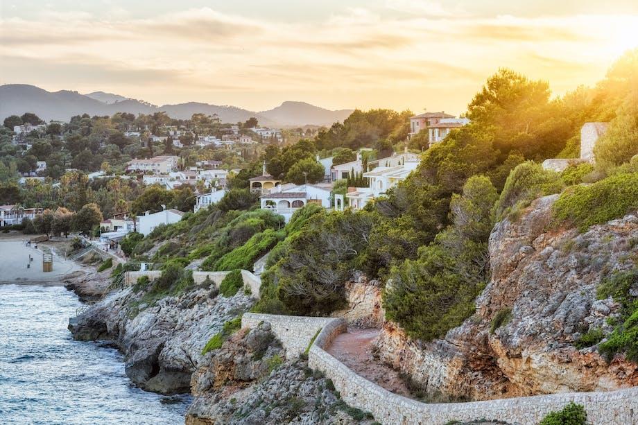 Solnedgangen over Mallorca