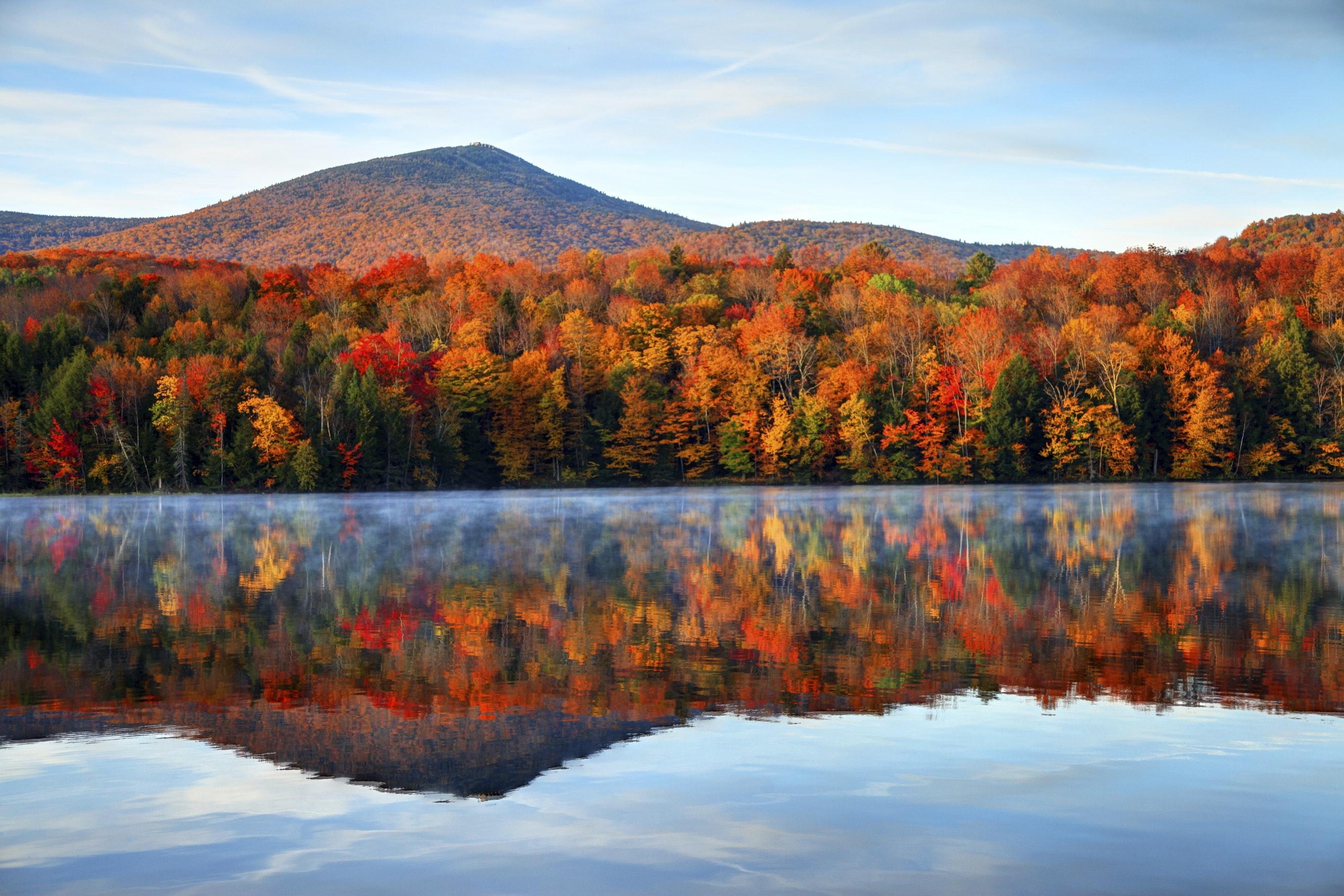 Efterårsfarver i Vermont