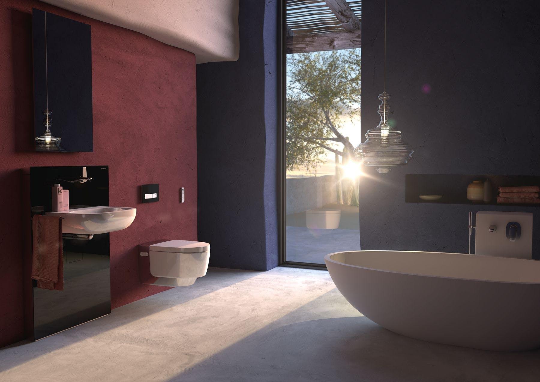 Fremtidens toilet fra Schweiziske Geberit AquaClean Mera og Sela
