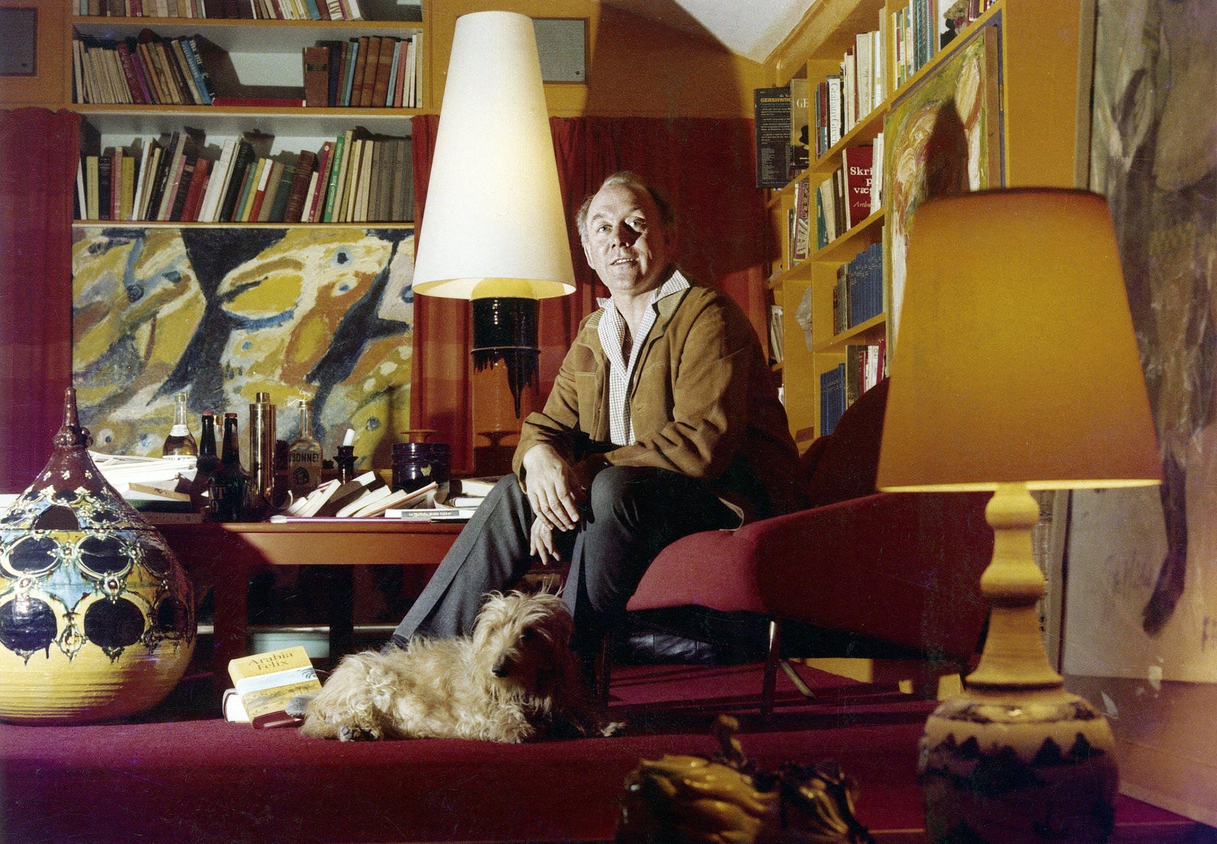 Foto fra bogen 'Bjørn Wiinblad - en livskunstner', Gyldendal