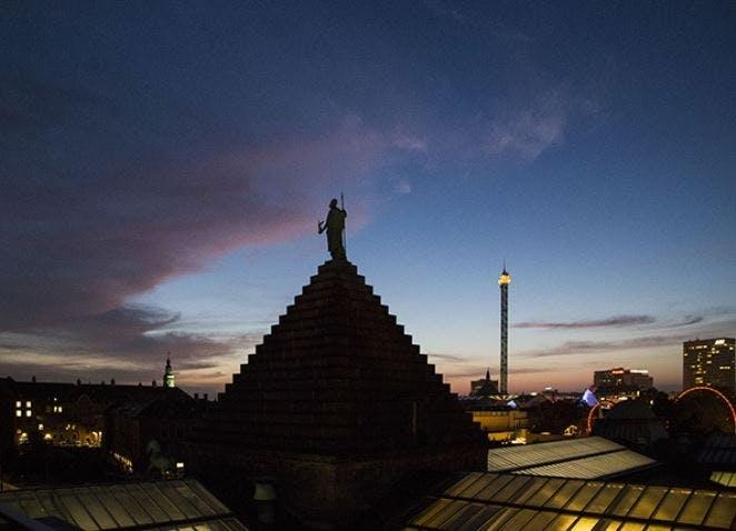 toppen af glyptoteket, kulturnatten i københavn
