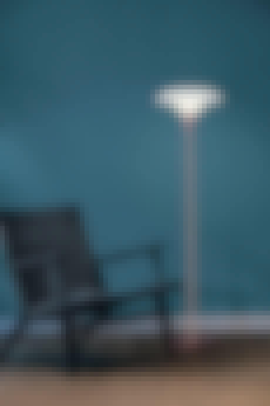 Gulvlampen er den perfekte ledsager til lænestolen