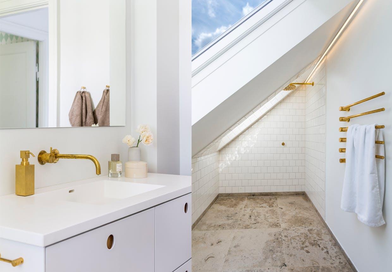 lyse lækre badeværelser