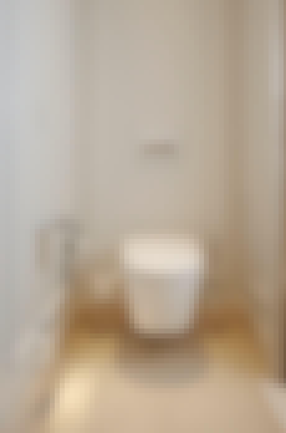 Toilet fra schweiziske Geberit i modellen Sela i værelse 105 deluxe på hotel D'Angleterre
