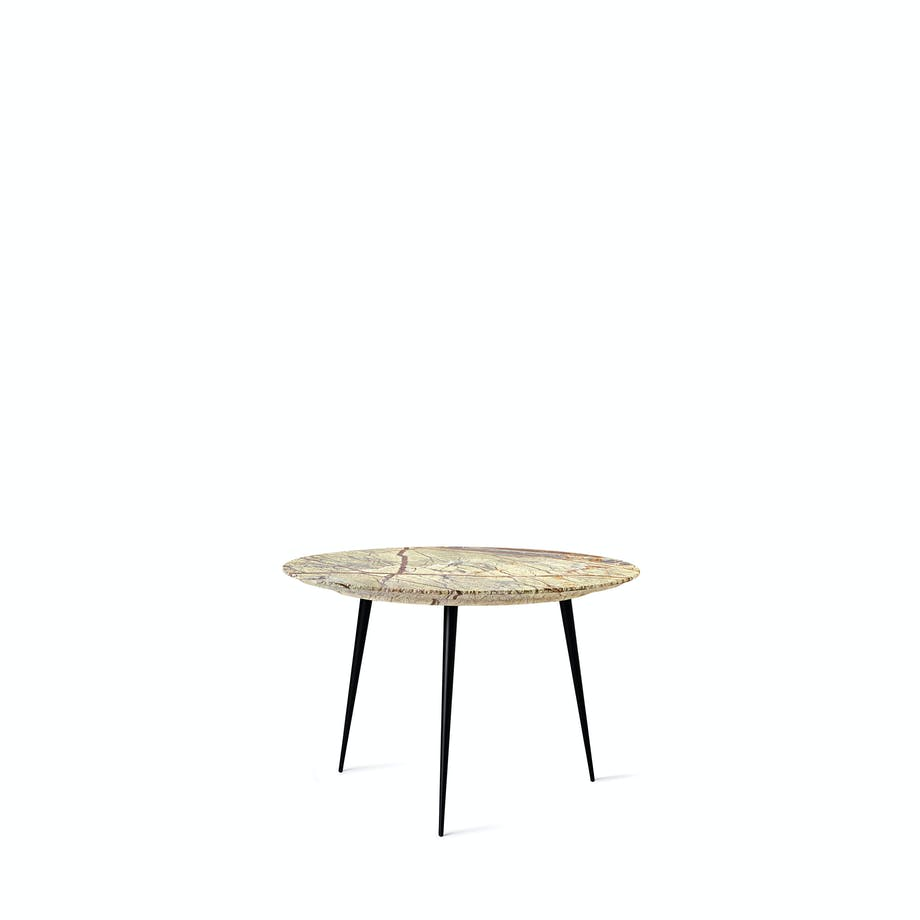 Marble Disc Table i jungle grøn