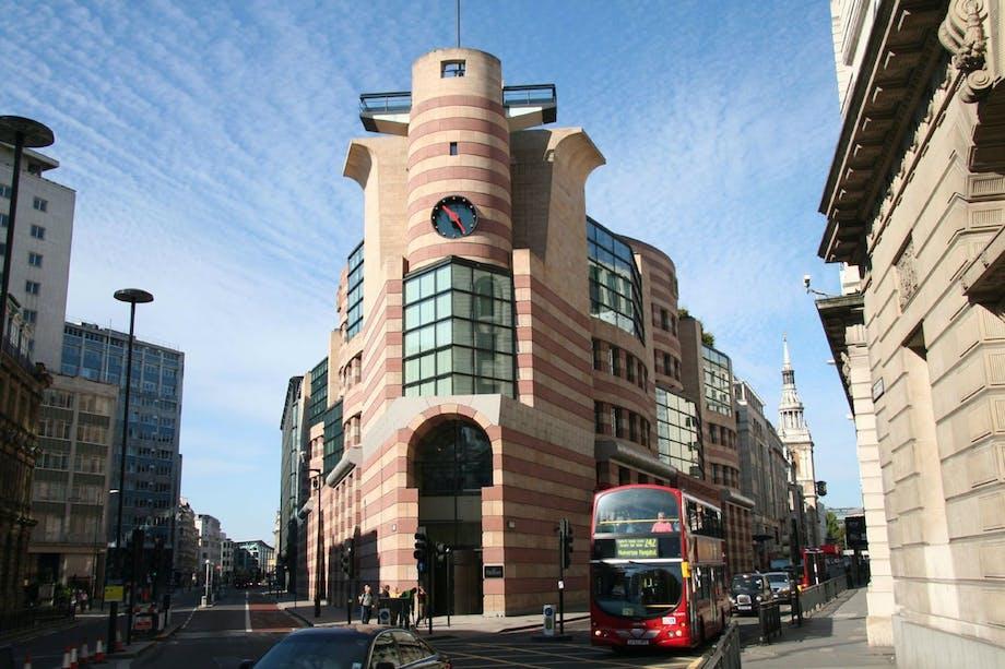 No 1 Poultry i London