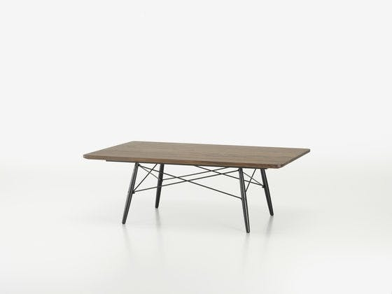 Eames Coffee Table i rektangel form og i amerikansk valnød
