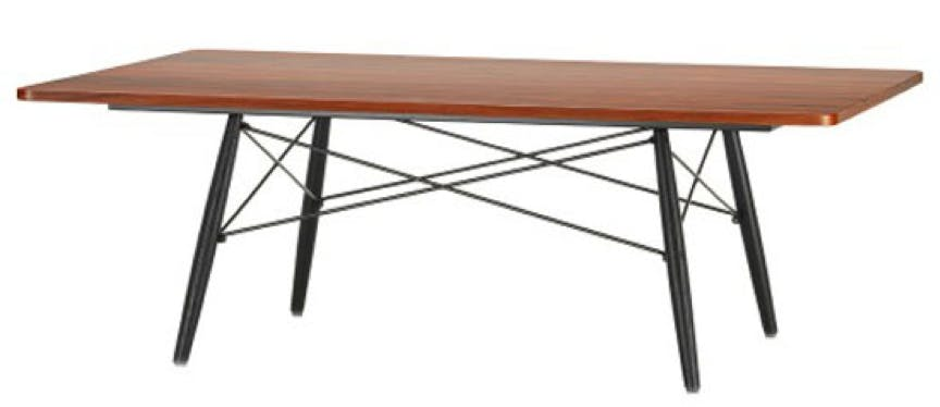 Eames Coffee Table i rektangel form og i palisander