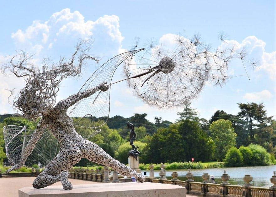 Robin Wight skulptur