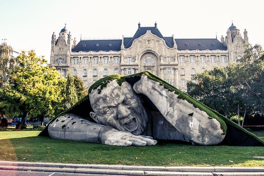 Den gigantiske mand fra Budapest