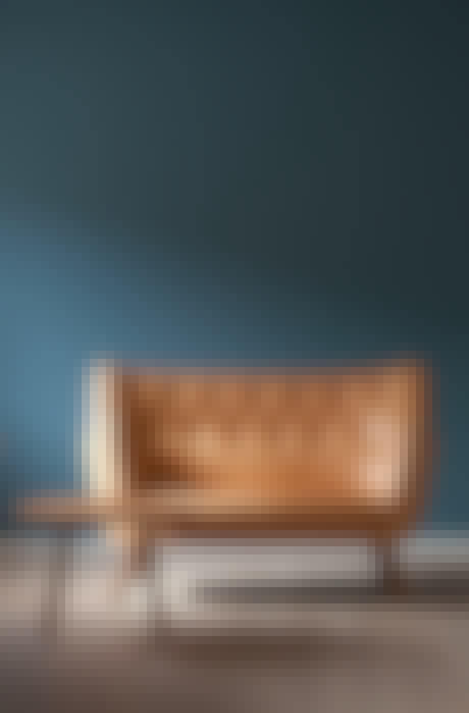 Poet-sofaen og Pelikan-bordet