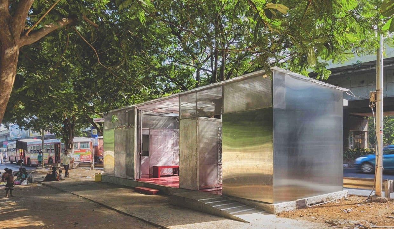 Udvendig syn af The Light Box - Restroom for Women