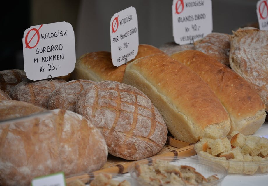 Lækkert økologisk brød fra madfestivalen Kulinarisk Sydfyn