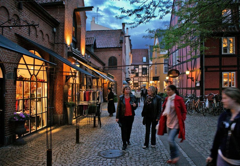 Vintapperstræde - Odenses shoppecentrum