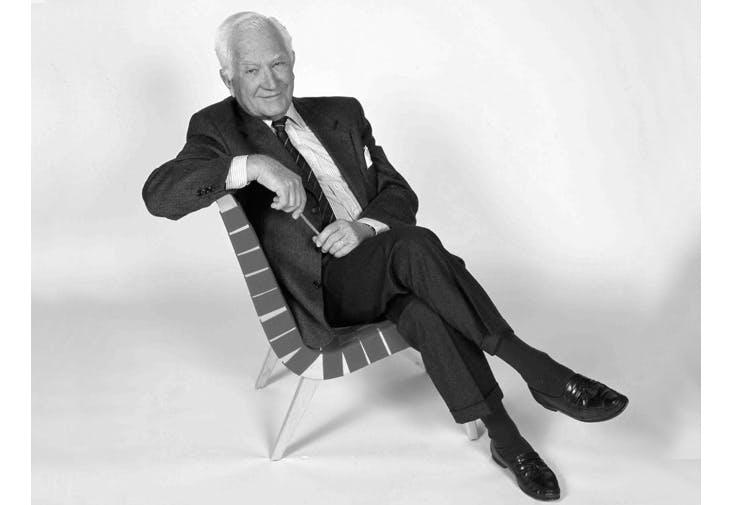 Jens Risom, møbelarkitekt, fylder 100 år 8. maj 2016.