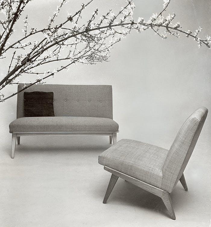 Jens Risom stol og lænestol