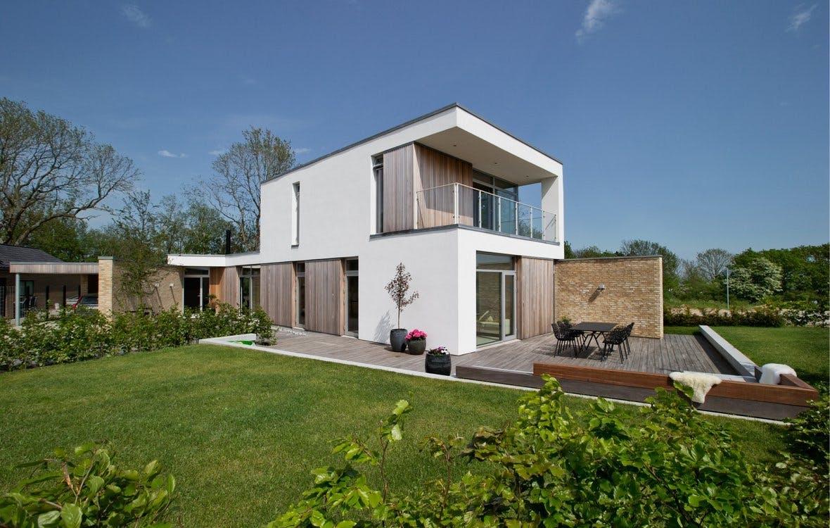Villa i Skrødstrup. Vinder af idepris 2014 i Danske Boligarkitekters regi