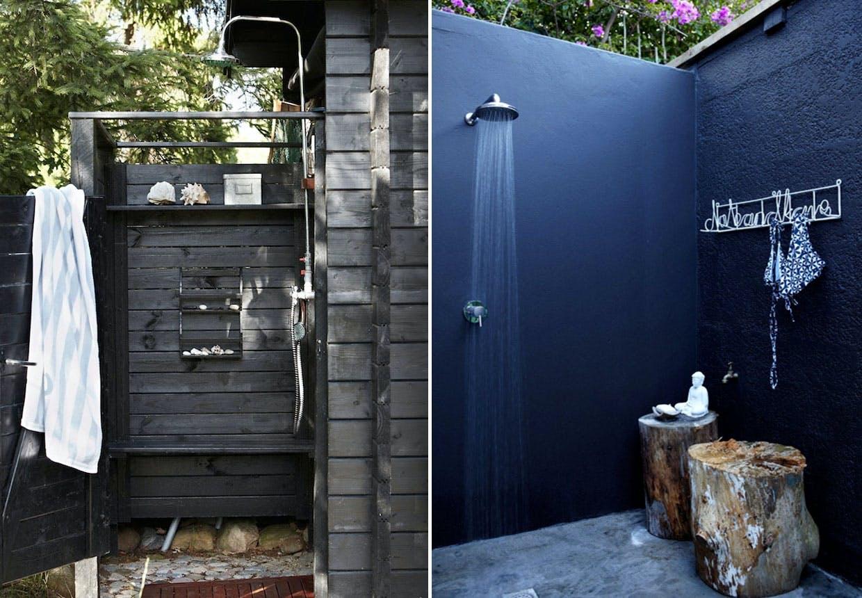 Udendørs badeværelse som stil og charme