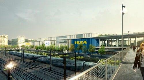 Ikea af Dorthe Mandrup Arkitekter fra Dybbølsbro