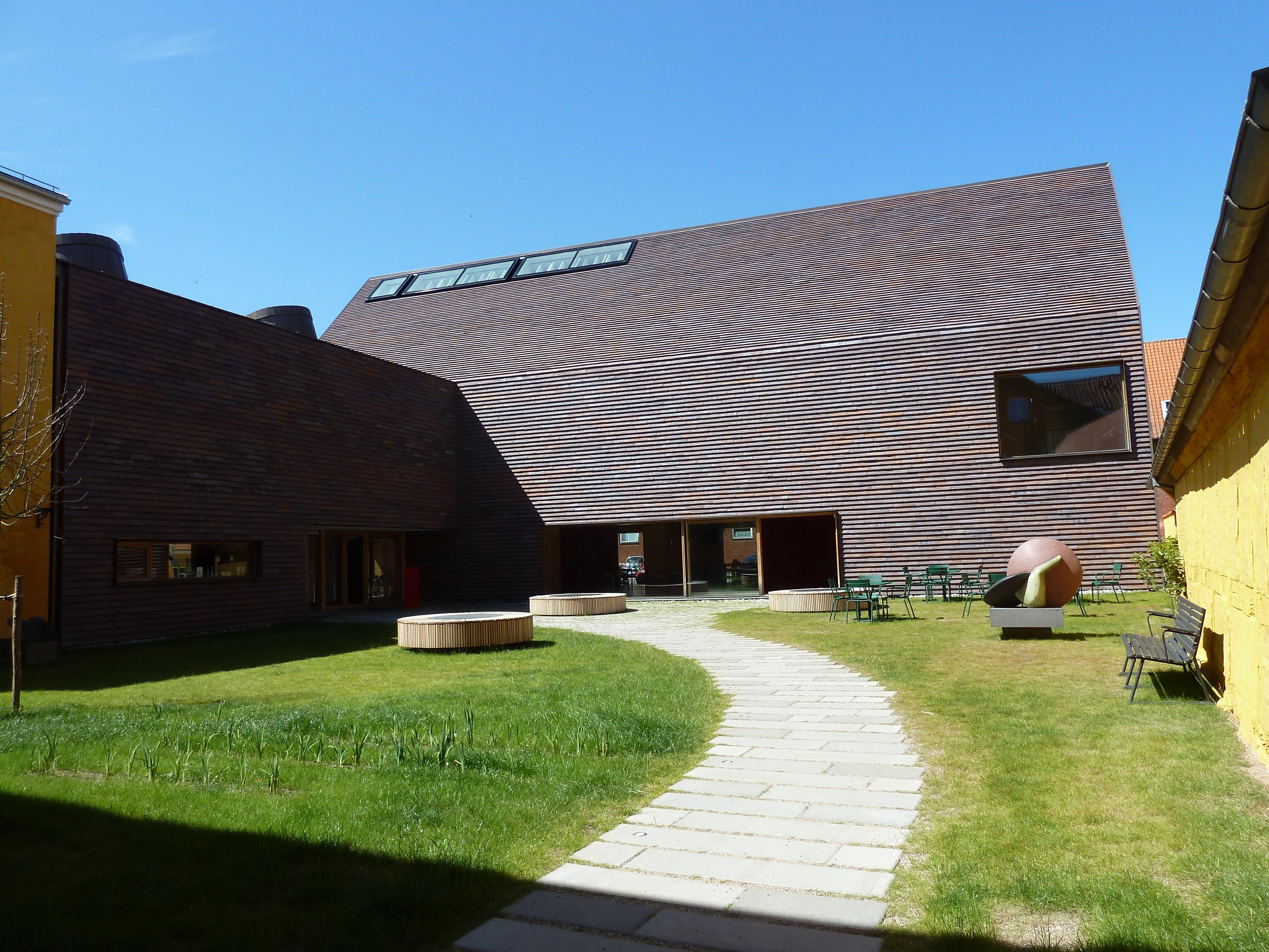 Danske provinsmuseer - Kunstmuseer i provinsen.