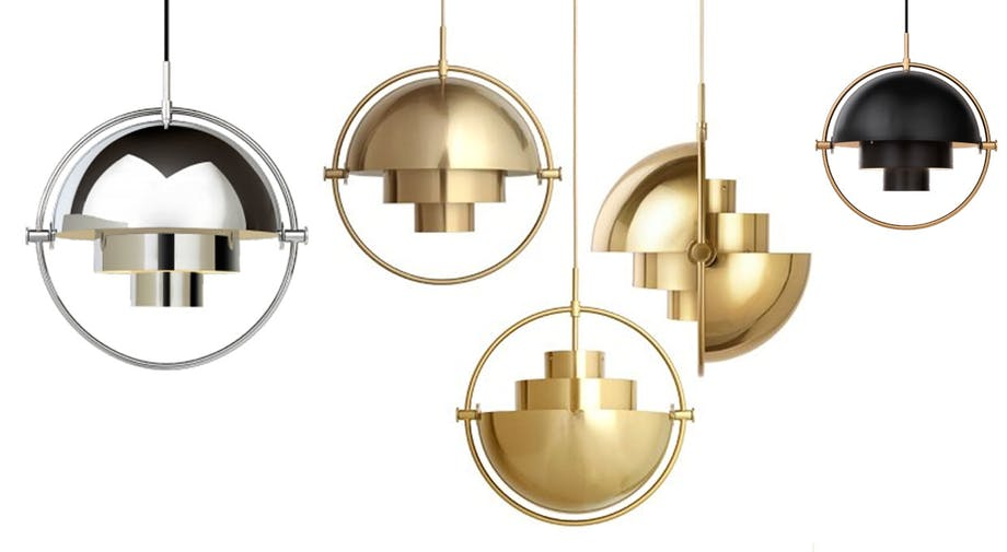 Multi Light Pendant af Louis Weistdorf og Gubi