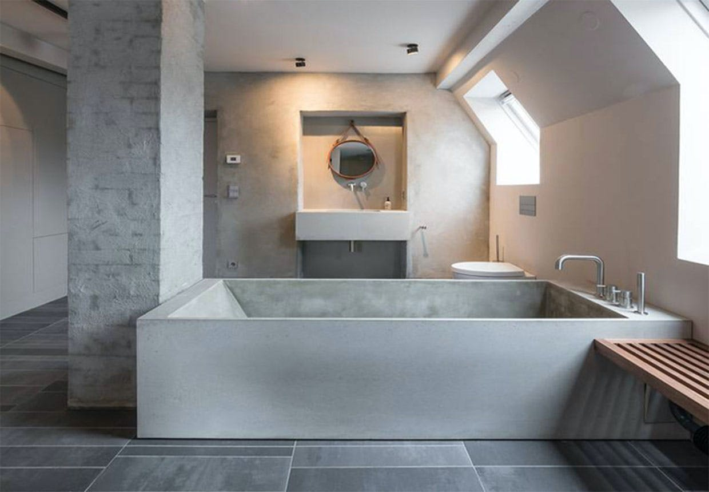 Ovenlys på badeværelser skaber en fantastisk stemning
