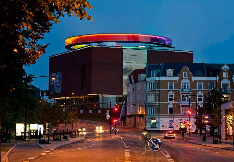 Aros. Museum af Schmidt Hammer Lassen fra 2004