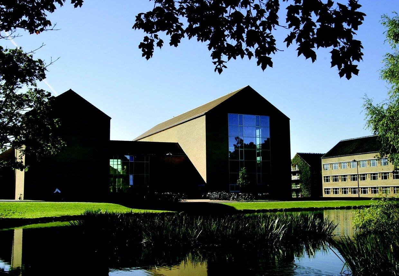 Århus Universitet og Århus campus tegnet af C.F. Møllers tegnestue