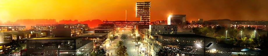 Downtown Gellerup i en ikke alt for fjern fremtid
