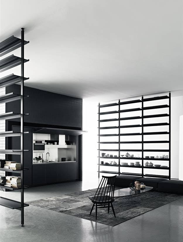Skjul dit køkken bag ON-OFFs fleksible design | bobedre.dk