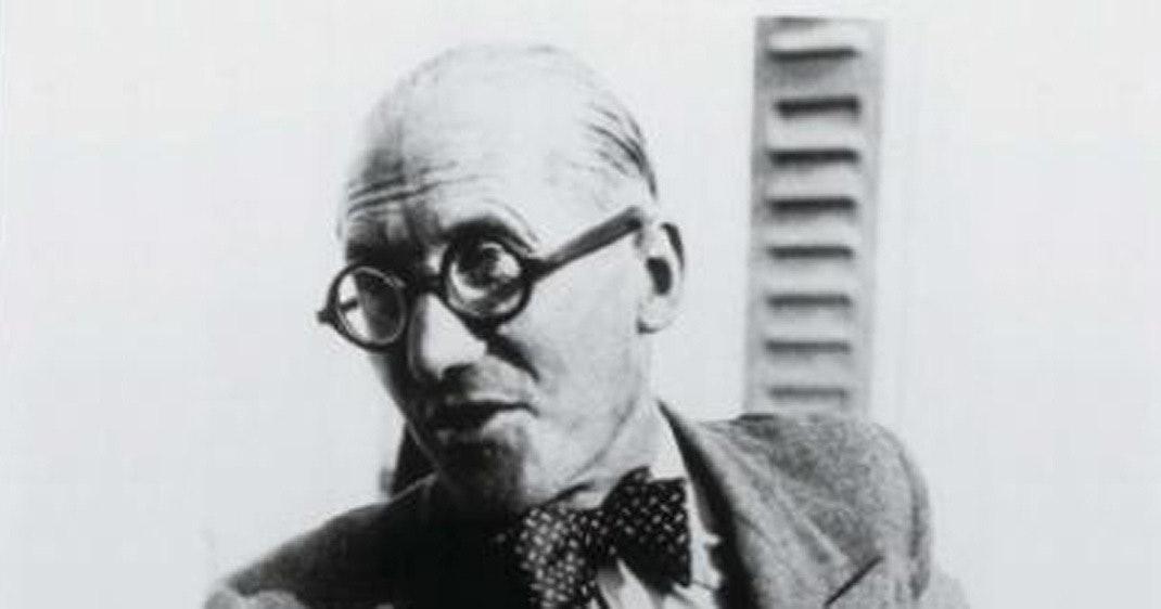Le Corbusier portræt