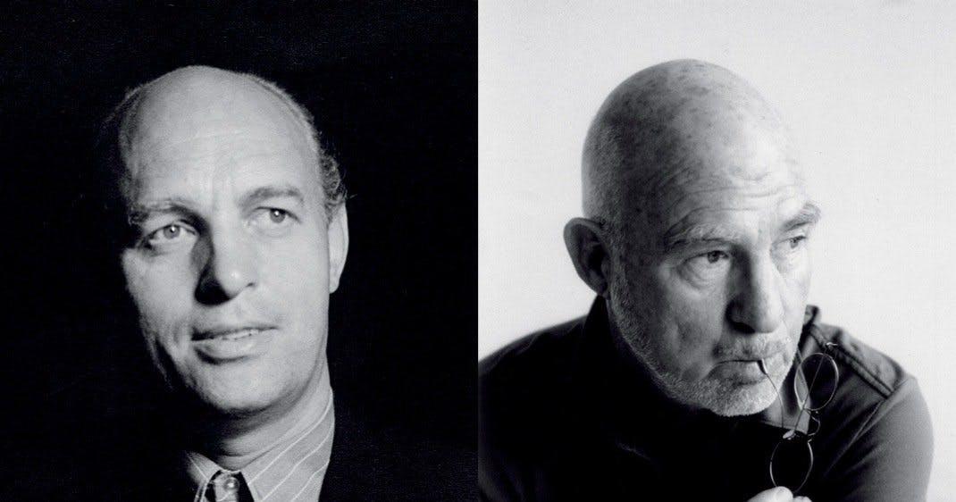 Preben Fabricius og Jørgen Kastholm portræt