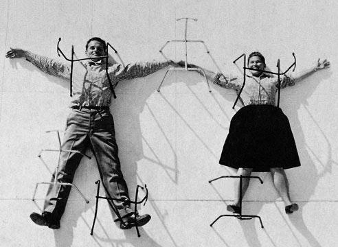 Ray og Charles Eames portræt