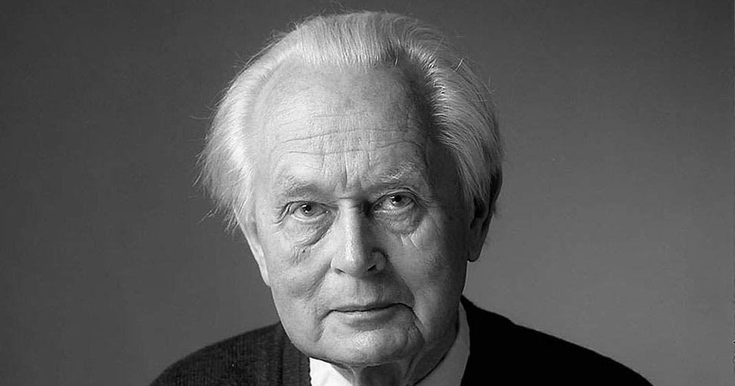 Piet Hein portræt