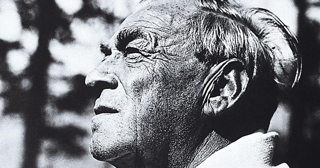 Alvar Aalto portræt