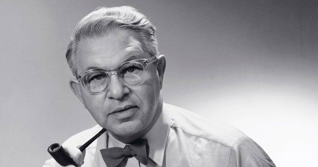 Arne Jacobsen portræt