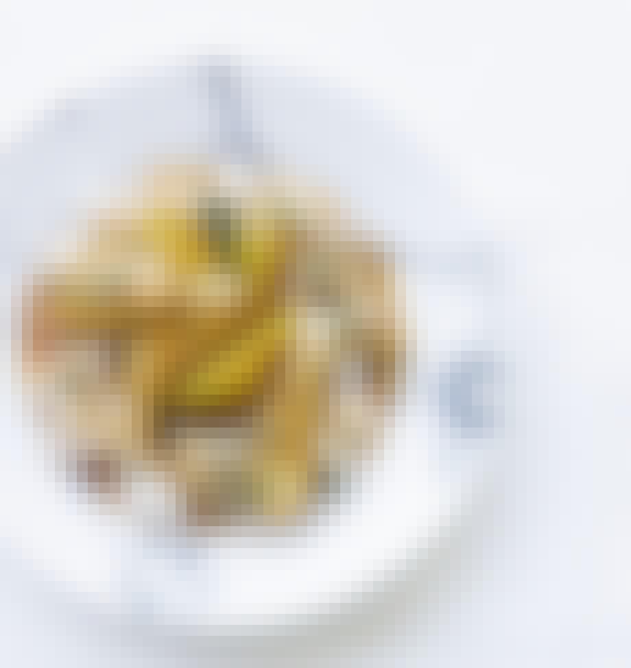 Kylling i karry med pære