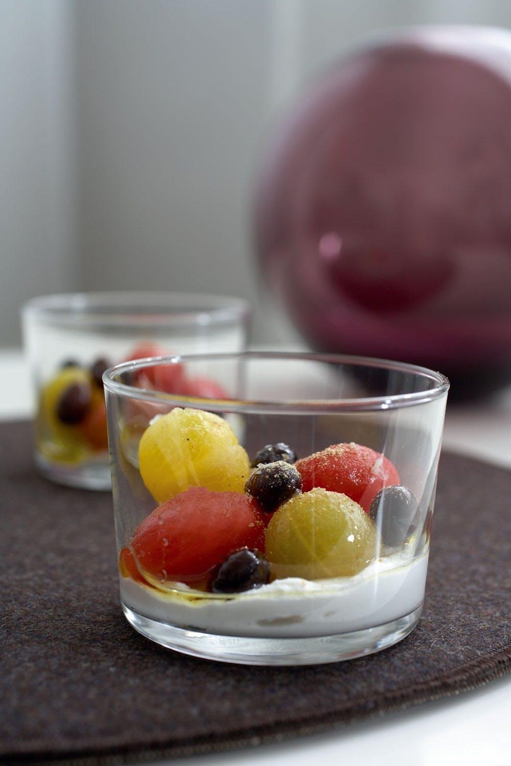 Semsommertomater i olivenolie