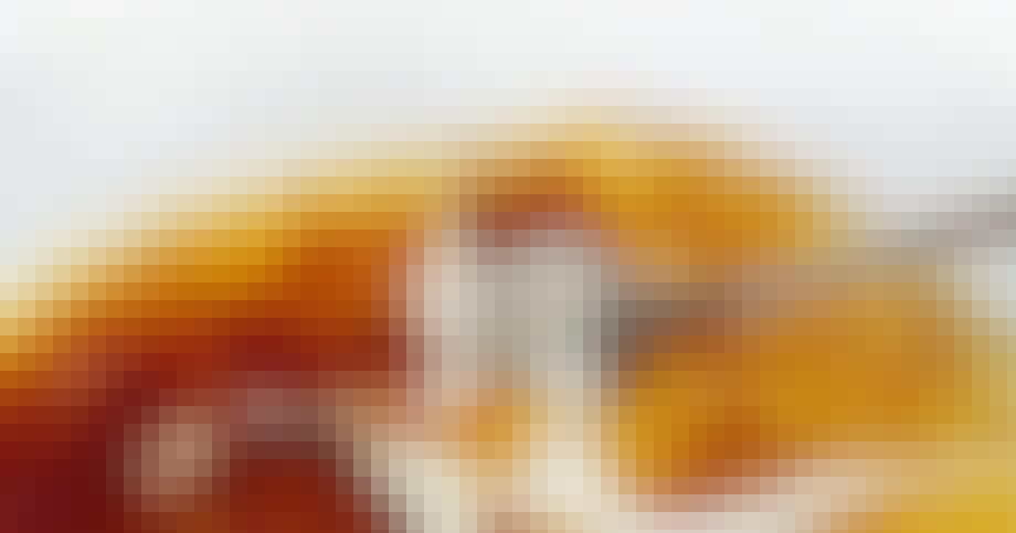 Mortens Heibergs sprøde crème brûlée med en lækker kaffe-accent