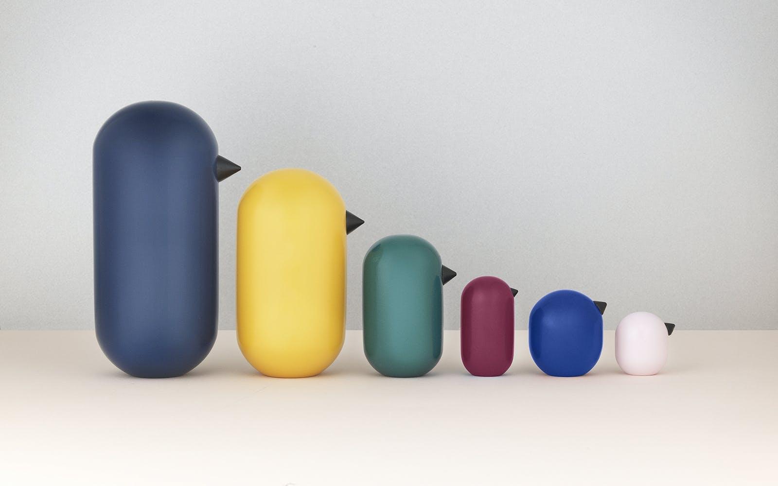 Farverigt design