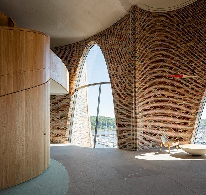 vejle fjord arkitektur olafur eliasson projekt