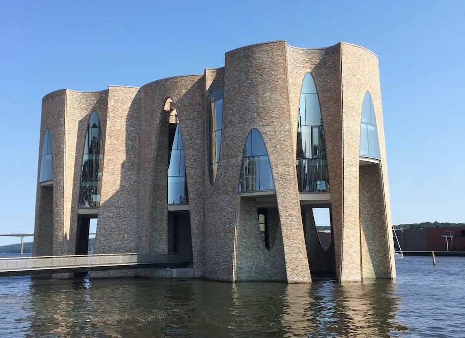 vejle fjord arkitektur olafur eliasson fjordenhus