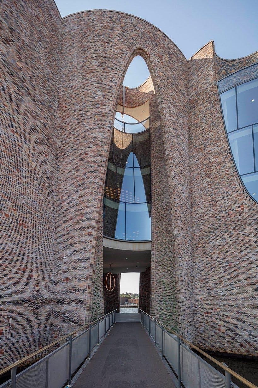 vejle fjord arkitektur olafur eliasson mursten