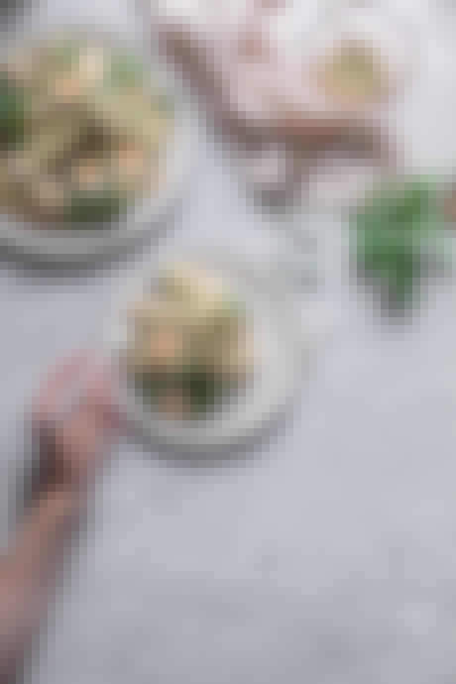 quinoa salat opskrift vinagrette