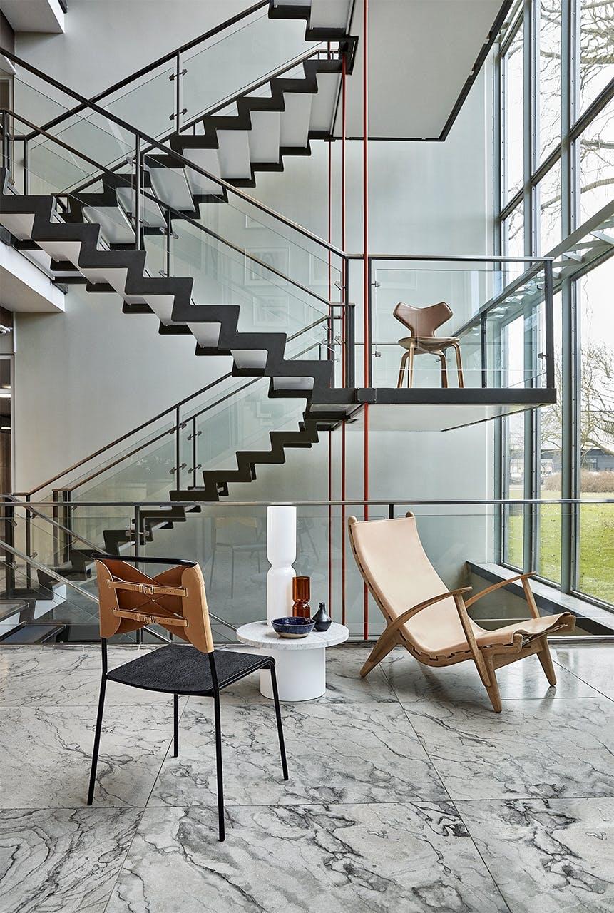 arne jacobsen indretning design trappe stol