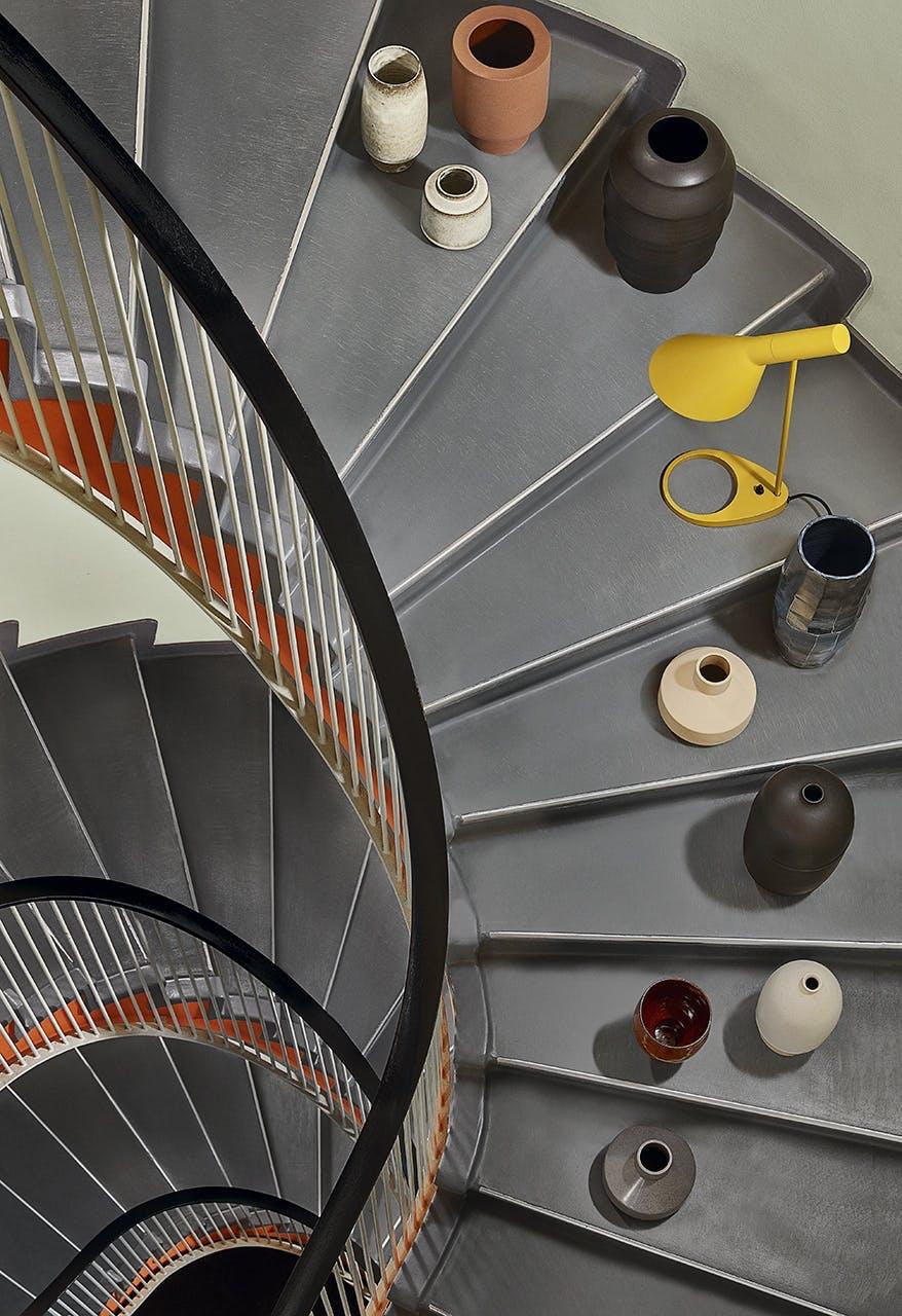arne jacobsen indretning design trappe pynt vase