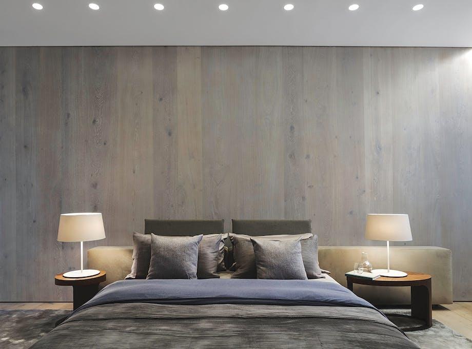 boliger lejlighed new york soveværelse pude
